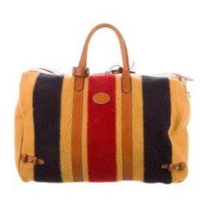 CHURCH'S Leather Whitney Blanket Weekender Bag